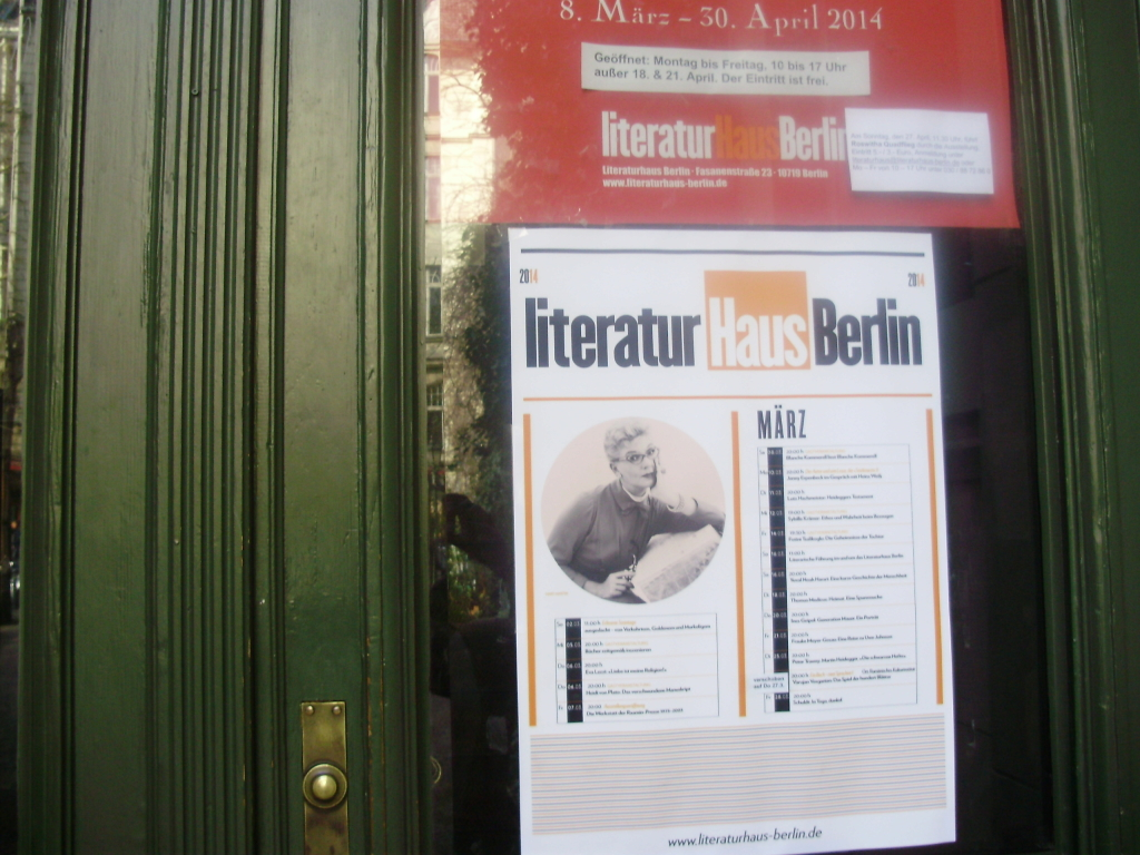 Cafe Literaturhaus Berlin Germany