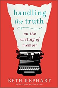 image of book cover handling the truth memoir
