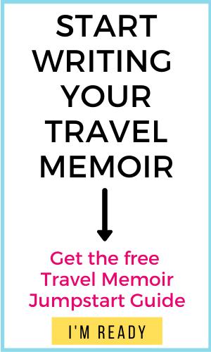 image of text box start writing your travel memoir
