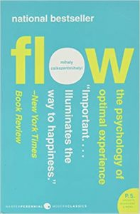 image of book coverf flow by Mihaly Csikszentmihalyi