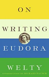 image of book cover on writing by eudora welty