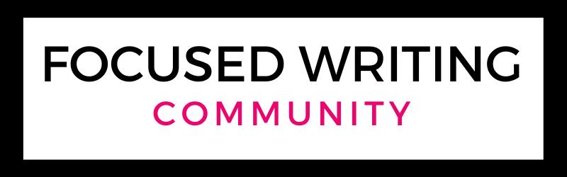 image of text box focused writing community